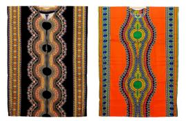 AFRICAN GYPSY KAFTAN ZWART kimono maat M-XXXL
