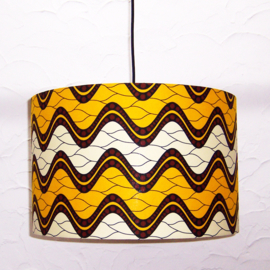 JOIA afrikaanse lampenkap | diameter 40 cm | african Wax Block print
