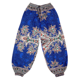 DASHIKI HAREM BROEK etnische print ZAFFRE | dames party aladdin pants maat M/L