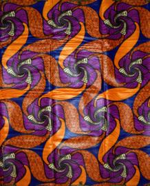 131 Afrikaanse stof | African Wax Bazin (Damast) 100% cotton  | prijs / yard