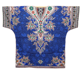 AFRICAN DASHIKI SHIRT etnische print ZAFFRE   unisex zomer party festival blouse