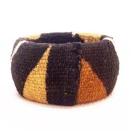 BAMBARA armband #4 african chic van bogolan mud cloth