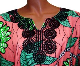 KAFTANJURK ZARINA afrikaanse wax print | 100% katoen | ONE SIZE past maat M-XXXL