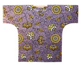 Afrikaans DASHIKI shirt BADRU | african wax print | unisex zomer party festival blouse