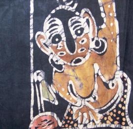 BATIK WANDKLEED 90x123 uit Tanzania | puur en uniek afrikaans handwerk