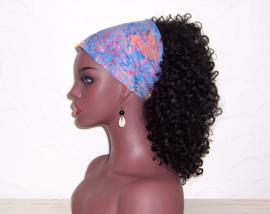 BANDANA BATIK #7 exotische hoofddoek / zakdoek 100% katoen