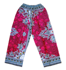 DASHIKI BROEK etnische print RUBY | unisex zomer party festival pants in 3 maten