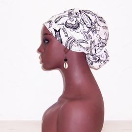 HOOFDDOEK GRACE | afrikaans sjaaltje | katoen 114 x 35 cm