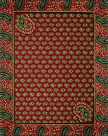 172 Afrikaanse stof | African Wax Print | Polycotton | prijs / yard