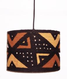 BAMBARA afrikaanse lampenkap | diameter 35 cm | mud cloth uit Mali