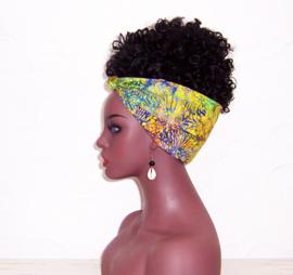 BANDANA BATIK #16 exotische hoofddoek / zakdoek 100% katoen