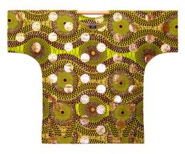 Afrikaans DASHIKI shirt RAZI | african wax print | unisex zomer party festival blouse
