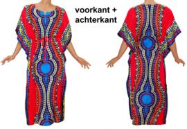 AFRICAN GYPSY KAFTAN mozaiek PINK kimono maat M-XXXL