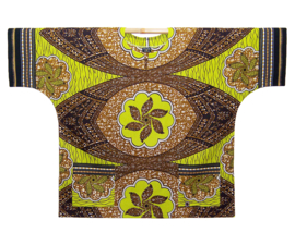 Afrikaans DASHIKI shirt JAFARI | african wax print | unisex party festival blouse | KINGSIZE
