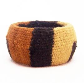BAMBARA armband #1  african chic van bogolan mud cloth