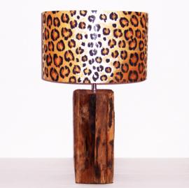LEOPARD lampenkap doorsnee 40 cm afrikaanse animal print