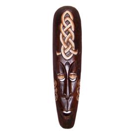 Afrikaans masker 49 cm | houten masker (#F)