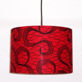 CHAKA afrikaanse lampenkap | diameter 35 cm | african Wax Print