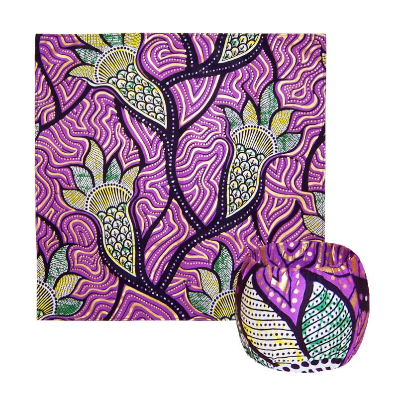 BANDANA + BANGLE set | Purple Romance | hoofddoek/zakdoek en armband