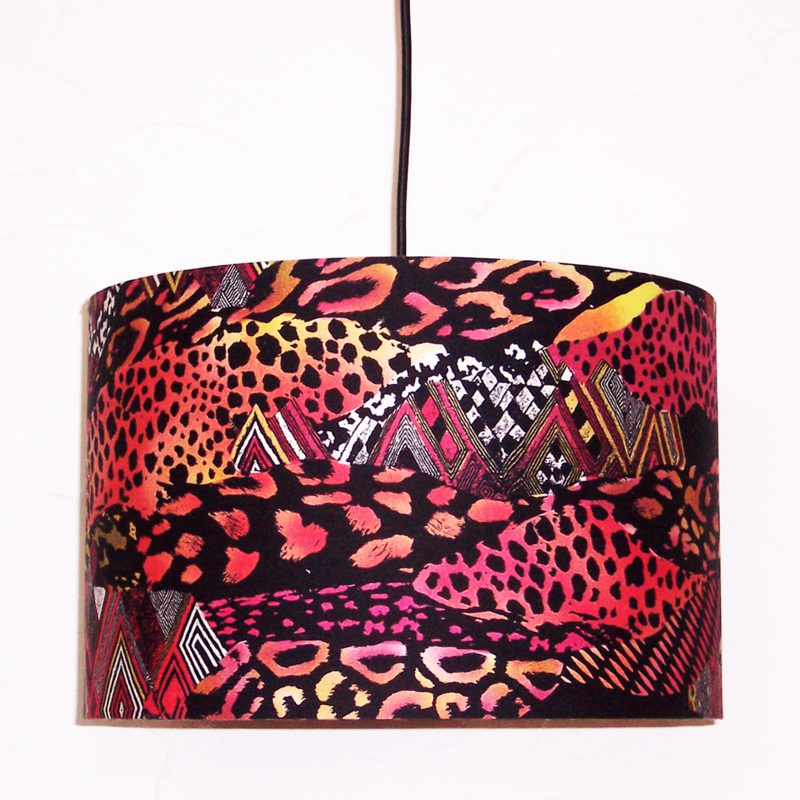 ANIMAL PRINT lampenkap doorsnee 35 cm afrikaanse lamp