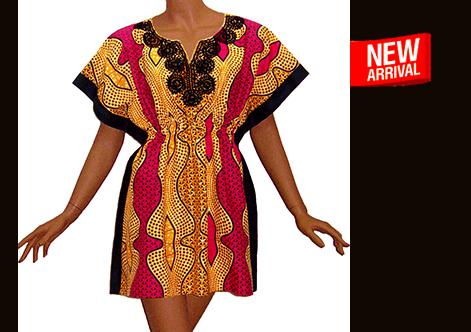 Afrikaanse dashiki jurk LULU