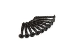 Scharnier Schroeven RVS zwart 4,5x40 Torx T-20 10 stuks