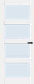 Cando  Binnendeur Manchester Met Blank Facet Glas