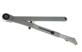 Blokkeer arm voor GEZE deurdrangers 2000/4000 zilver
