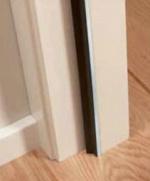 Aluminium inbouwprofiel geschikt voor kozijn van max. 231,5 x 93 cm