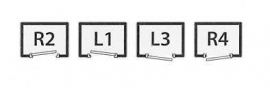 DEURKOZIJN COMBINATIE 67X 114 BRANDWEREND 60 MIN sponning 25 mm