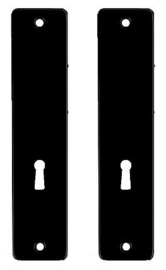 Ami Kortschild SL56 Aluminium Zwart