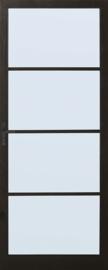 Skantrae achterdeur SSO 2554 met blank isolatie glas