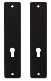 Ami Kortschild PC55 Aluminium Zwart