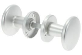Ami Knopkruk Met Rozet Aluminium F1 60 mm
