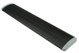 AMI Tochtklep aluminium Zwart