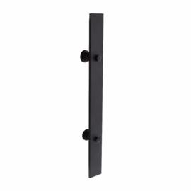 INTERSTEEL Deurgreep 800 x 40 mm mat zwart