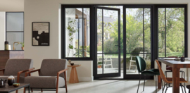 Skantrae achterdeur SSO 2556 met blank isolatie glas
