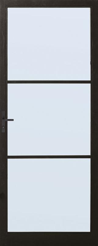 Skantrae achterdeur SSO 2553 met blank isolatie glas