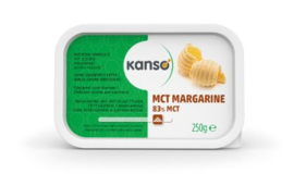 Kanso (Ceres)  MCT margarine 83% 250 gr.