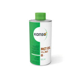 Kanso (Ceres) MCT olie 77% 500 ml.