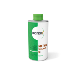 Kanso (Ceres) MCT 100% olie 500 ml.