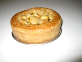 1 appeltaartje 300 gram, met MCT 83% (diepvries verzonden)