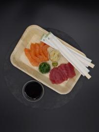 Sashimi met zalm & tonijn
