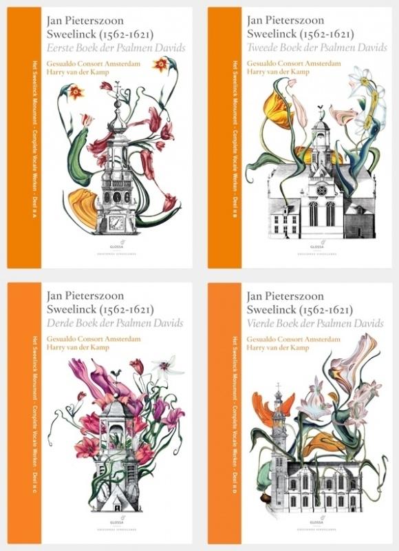 DE PSALMEN COMLEET (4 boeken, 12 CD's)