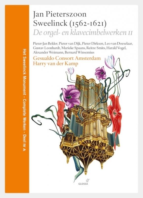 HSM IVB: De Orgel- en Klavecimbelwerken, Deel II  (boek & 3 cd's)