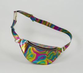 OIL SLICK METALLIC FANNY PACK (LIMITED EDITION)