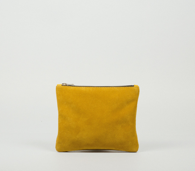 SUEDE PURSE SMALL