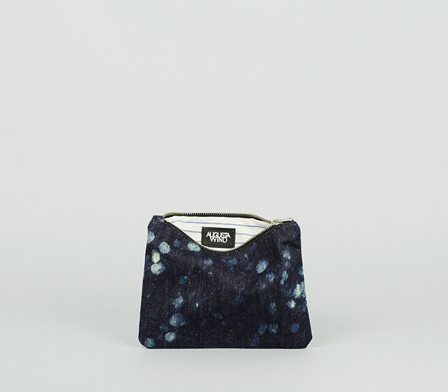 GALAXY DENIM PURSE SMALL