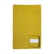Handdoek Oker geel