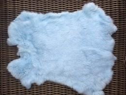 Konijnenvacht Aqau blauw